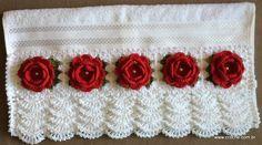 toalhas de croche - Pesquisa Google