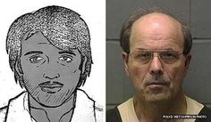 "Dennis Rader. Wichita, KS., killer Dennis Rader signed the taunting letters he sent to police ""B.T.K,"" meaning ""bind, torture, kill.""  Indeed, this was the means by which he murdered ten people between 1974 and 1991, all the while maintaining a life as a husband, father, church deacon and scout leader.  His first four victims were all members of the same family, and were killed on the same day, in front of each other.  Rader's undoing came in 2005, after police traced him using a floppy disk"