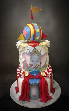 Dumbo Circus 1st Birthday by Sue Deeble