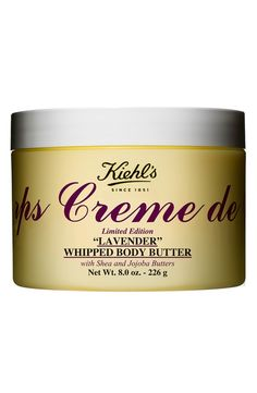 Kiehl's Creme de Corps Lavender Whipped Body Butter