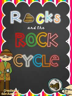 Rock the Rock Cycle {A Science Unit for Intermediate Students to learn about rocks and the rock cycle} Includes posters, printables, and hands-on activities!