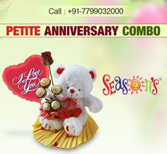 Beautiful Petite Combo - Perfect Gift For New Year Flowers Delivered, Send Flowers, Hyderabad, Anniversary, Teddy Bear, Seasons, Gifts, Beautiful, Presents