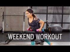 10 Minute Full Body Weekend Workout from XHIT Daily