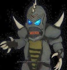 Homemade Monster Costume
