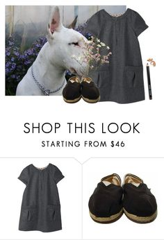 """Untitled #891"" by jaykitten123 ❤ liked on Polyvore featuring TOMS and Bobbi Brown Cosmetics"