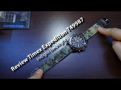 Review Timex Expedition T49987 - indiglo backlight - Andrasi.ro