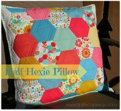 .Quiltscapes.: Hexies!
