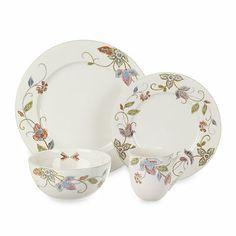 Oleg Cassini Kavita Dinnerware - BedBathandBeyond.com