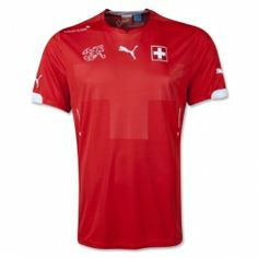 Switzerland 2014 FIFA World Cup Home Jersey. Order Today at Soccer Box For Fast Worldwide Shipping. Fifa World Cup 2014, Brazil World Cup, World Cup Shirts, World Cup Jerseys, Fifa Online, Swiss Flag, Football Fashion, National Football Teams, Football Kits