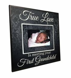 New Grandparent Gift  Picture Frame For by MemoryScapes on Etsy