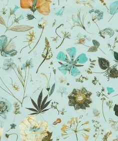 Liberty of London: Flower Show – Botanical Garden Digital Prints via True Up Textiles, Textile Patterns, Textile Prints, Print Patterns, Floral Patterns, Liberty Art Fabrics, Liberty Print, Motif Floral, Liberty Of London