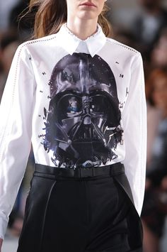 Preen AW 2014-15 #starwars www.blueisinfashionthisyear.com. YESS!! sorry I'm in the mood for Star Wars tees right now!!