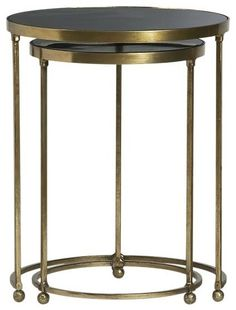 Set of 2 Moreno Nesting Tables traditional side tables and accent tables, crate and Barrel At Home Furniture Store, Living Room Console, Table Furniture, Nesting Tables, Living Room Side Table, Table, Versatile Table, Accent Table, Contemporary Side Tables