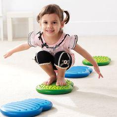Weplay, Balance Clouds, Balanciersteine, verbessert die Balancierfähigkeit in der Entwicklung des Kindes   KT0012 / EAN:4260197673005