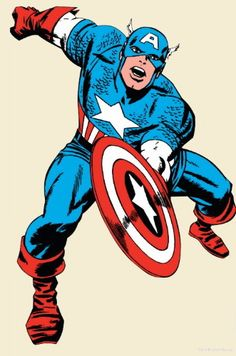 Captain America! While I enjoy the new version, this is the Captain America I grew up with...