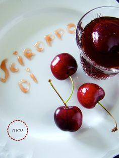 mangiare è un po' come viaggiare: sciroppo di ciliegie