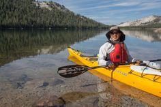 Kayaking on Tenaya Lake. Yosemite National Park, National Parks, Tuolumne Meadows, Famous Waterfalls, Park Landscape, Hiking Trails, Photo Credit, Kayaking, Jewel