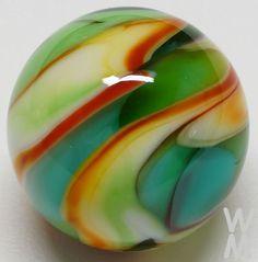 Winlock Marbles ~ Transparent/Opaque ~ Handmade Marble