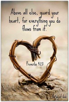 Anita+Hewitt:+Keep+My+Heart.....Proverbs+4:23.....4/21/2015...  Keep thy heart with all diligence; for out of it are the issues of life.  Dear Heavenly Father, Thank You For keeping my heart. I ask You Lord to curve off all the stony  areas of my heart. The cares of life sometimes can made us hard or cool, work on me Lord...... ~ Amen~ http://anitahewitt.blogspot.com/2015/04/keep-my-heartproverbs-423food-for.html   Follow me on Twitter@  NeNeGyrl@Twitter.com   Thank You For Your Support…