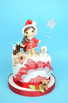 Dolce natale/ Sweet Xmas  cake design / pasta di zucchero / sugar paste