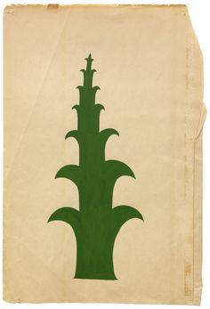 From the tree series, gouache on aged paper, Margaret Kilgallen. Botanical Illustration, Illustration Art, Margaret Kilgallen, Abstract Pattern, Abstract Art, Book Design, Printmaking, Art Drawings, Street Art