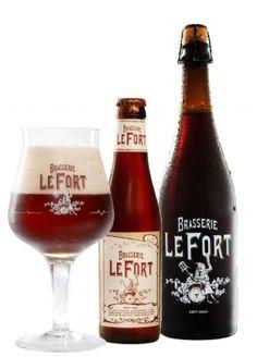 Brasserie LeFort | LeFort is een complex, donker bier van 8,5° met zoete, fruitige en zachte toetsen. De bleke en geroosterde, donkere gerstemouten zorgen voor een perfect evenwicht. Reken daarbij nog het aroma van chocolade/karamel en de fruitigheid van de hoge gisting, en je proeft een donker bier met een volstrekt unieke smaak.  Op de European Beer Star 2014 wint Brasserie LeFort een zilveren medaille in de categorie Belgian Style Strong Ale!