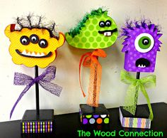 Monsters! - The Wood Connection Blog