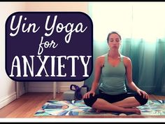 Yin Yoga for Anxiety & Stress - Yin Yoga Full Class 45 minutes (with Cleo the Cat) - YouTube