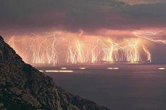 Lightning in Venezuela.