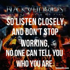 This quote is so great. It's like don't stop working to your goal, don't listen to people who tell you you cant
