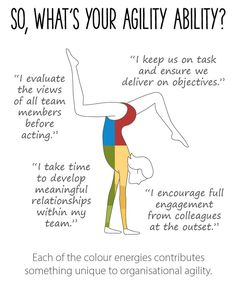 So, what's your agility ability? Each of the colour energies contribute something unique to organisational agility. Leadership Development, Self Development, Change Management, Project Management, Business Articles, Business Ideas, Insights Discovery, Customer Insight, Personality Profile