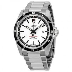 Tudor Grantour Automatic White Dial Stainless Steel Men's Watch 20500N-WSSS