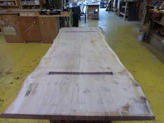 Shown here is the underside of the with a large mortice been created to house the legs. Oak Table, Dining Table, Tabletop, Rustic, Legs, Natural, House, Home Decor, Oak Desk