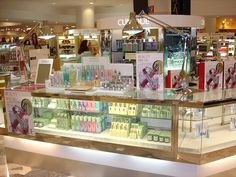 clinique makeup display - Google Search