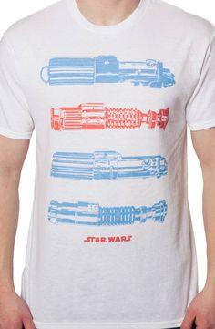 Lightsabers T-Shirt