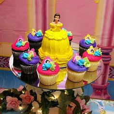 Such a cute princess cake!