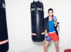 Photos: The Brazilian Body Workout: Aeroboxing with Adriana Lima – Vogue