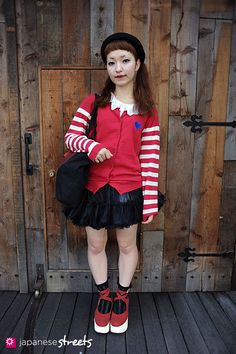 i adore japanese street fashion.