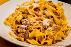 Food photos in Bologna: Emilia Romagna
