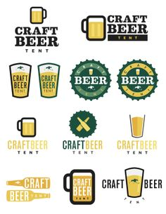 1000 images about sip of the south logo design on for Craft beer logo design