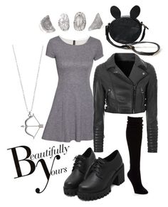 """All dressed up and no where to ho"" by effing-justice on Polyvore featuring H&M, Hue, Glamorous and Sonam Life"