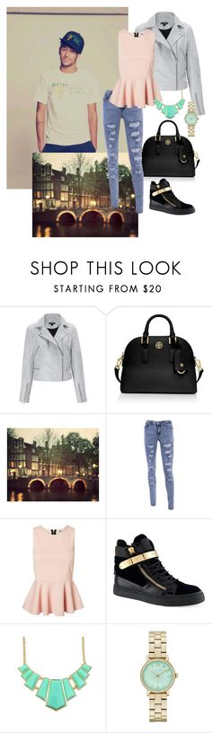 """""""#4 Amsterdam time with Neymar Jr <3"""" by foreveer15 ❤ liked on Polyvore featuring Ziggy, Tory Burch, Vero Moda, Giuseppe Zanotti and Marc by Marc Jacobs"""