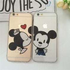 Cover For iPhone 6 Plus Cute Case Soft Silicone Mickey Minnie Couples Fashion Phone Cases Back Case For iPhone 6 6s plus Cover-in Phone Bags & Cases from Phones & Telecommunications on Aliexpress.com | Alibaba Group