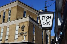 Poppies Fish & Chips store in Shoreditch, 6-8 Hanbury Street