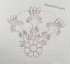 Crochet Snowflake Pattern, Crochet Snowflakes, Crochet Ball, Easter Crochet, Crochet Christmas Decorations, Christmas Diy, Fair Isle Knitting, Chrochet, Filet Crochet