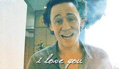 I love you too, you beautiful, beautiful man. *gif*