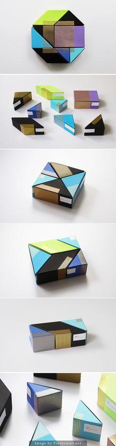 astrobright tea packaging / by Ken Lo / geometric