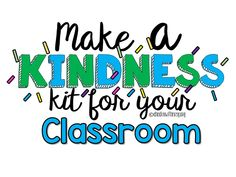 Kindness is a community service at school. Teach your students to spread kindness at school by building a classroom kindness kit! Make an impact on the culture of your school. Life Skills Classroom, Teaching Special Education, Teaching Social Skills, Classroom Tools, Teaching Strategies, School Classroom, Classroom Management, Teaching Resources, Classroom Volunteer