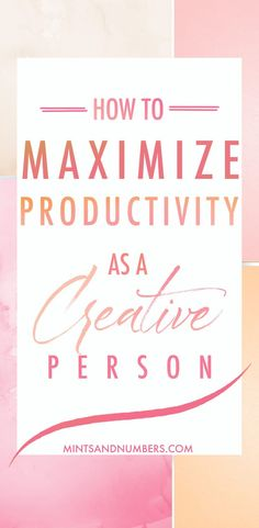 How to be more productive as a creative person. Here are some of my top time management and productivity tips and routines that help me stay on top my business and personal life. #productivity #productivitytips #timemanagement