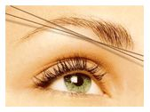Threading... the best way to arch your brows.